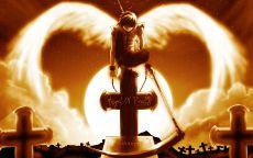 Ангел смерти на Кладбище