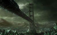 Рарушенный  мост