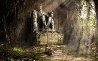 Памятник Линкольну после Армагеддона