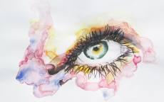 Картина Атмосферный глаз