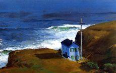 Джордж Беллоуз, картина Shore House