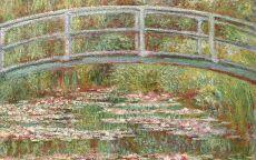 лод Моне, картина Мост через пруд Водяные лилии