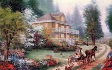 Поездка в загородный дом
