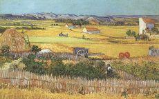 Ван Гог сбор урожая в Ла Кро