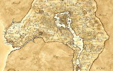 Карта провинции Cиродиил