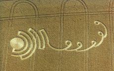 Загадочный рисунок в поле