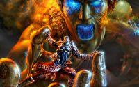 Экшн игра God of War
