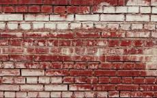 Кирпичная стена из красного кирпича