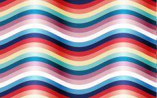 Фон разноцветные волны