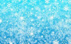 Голубой снег