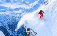 Смелый лыжник