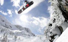 Сноуборд высокий полет