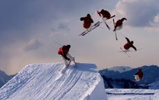 Freestyle skiing