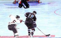 Хоккей атака на ворота