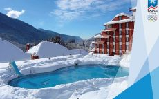 Олимпиада Сочи 2014 гостиница с бассейном