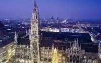 Площадь в Мюнхене Германия