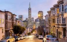 ССША, Вечерняя улица Сан-Франциско