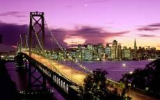 США, Сан-Франциско вечером