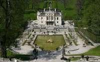 Германия, замок, дворец, Линдерхоф, Липовый двор