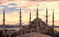 Турция, Стамбул, Мечеть Султанахмет