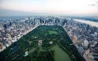 США, Нью-Йорк, центральный парк вид сверху