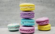 Разноцветные печенья