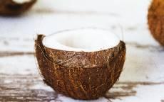 Обои для рабочего стола, фотография, картинка,Еда, половинка кокоса, кокосы