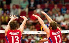 Волейбольный блок Россия