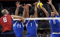 Волейбол мужчины Лондон 2012