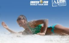 Постер пляжный волейбол