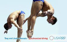Прыжки в воду синхронные