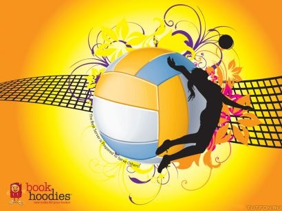 volleyball book hoodies