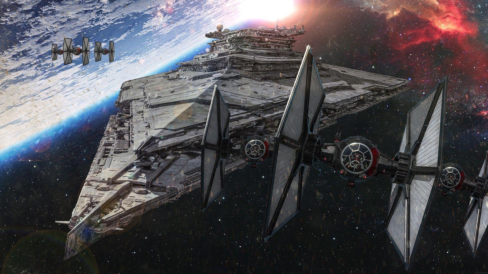 Skachat Oboi Kosmos Kosmicheskie Korabli Zvezdnye Vojny Zvezdy Na